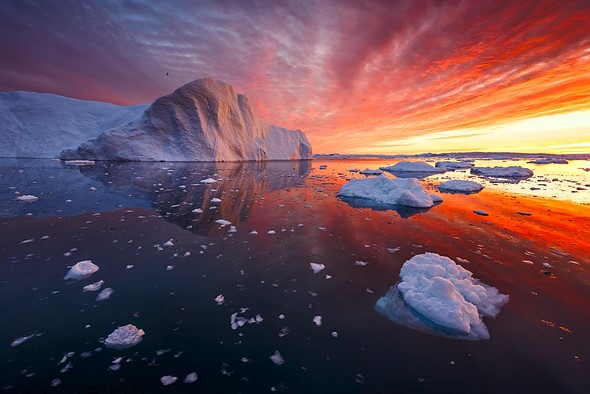 Photo story of the week: Fire and Ice