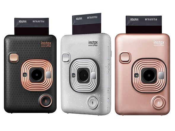 Fujifilm Instax Mini LiPlay can play sound that's printed onto its