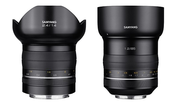 Samyang goes Premium with MF lens range 1