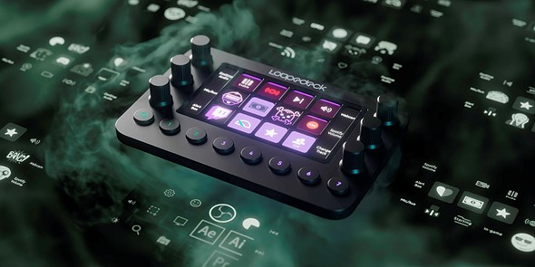 Loupedeck Live is a smaller, livestream-focused Loupedeck console