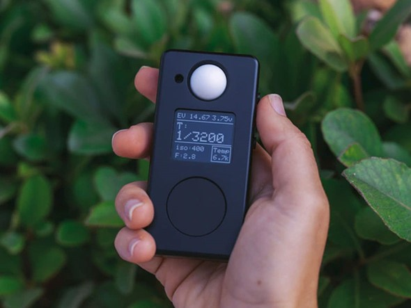Negative Supply's LM1 is a stylish, compact all-metal digital light meter