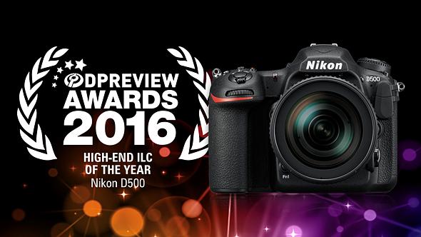 Winner:Nikon D500