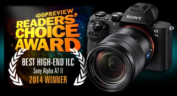 Best High-end ILC of 2014: Winner - Sony Alpha a7II