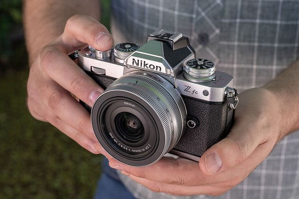 Hands-on with the Nikon Z fc