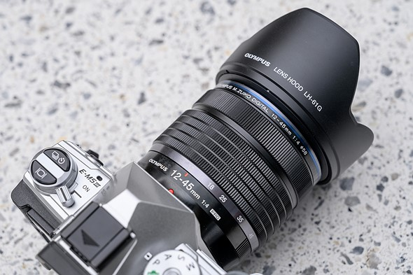 Hands-on with the Olympus 12-45mm F4 Pro