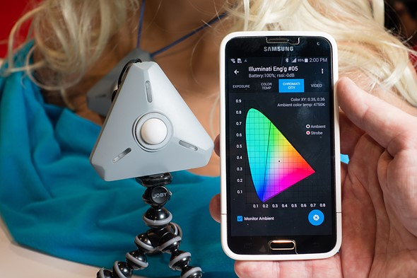 Illuminati light and color meter