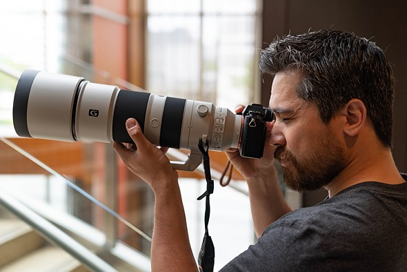 Hands-on with new Sony telephoto lenses