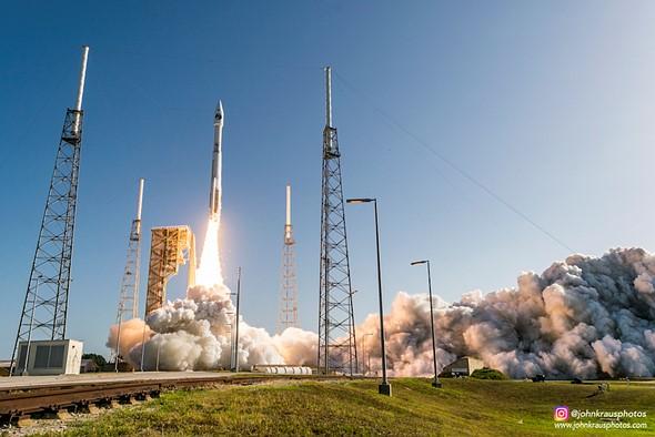 John Kraus rocket launch photography