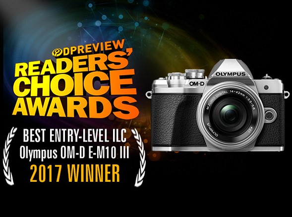 Best entry-level ILC - Winner: Olympus OM-D E-M10 III