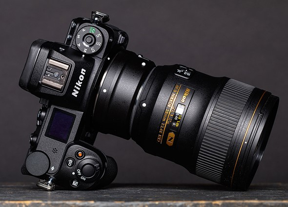 How well does the Nikon Z work with adapted lenses?