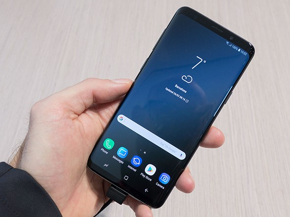 Hands-on with the Samsung Galaxy S9+