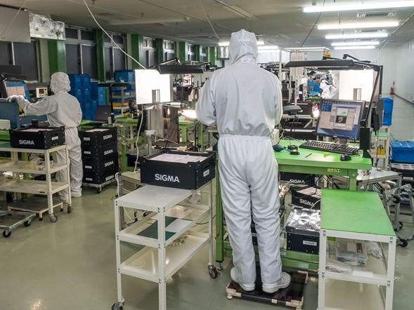 Making 'Art': We go inside Sigma's lens factory