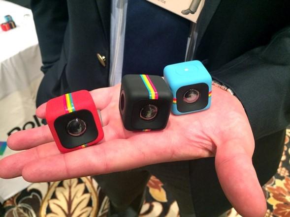 Polaroid previews stackable C3 'action camera'