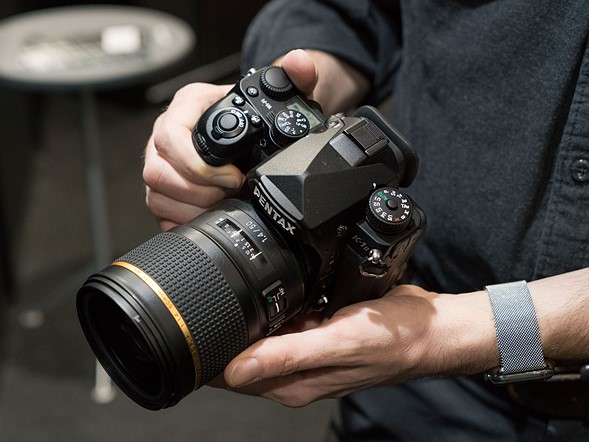 Hands-on with the Pentax K-1 Mark II and D FA* 50mm F1.4