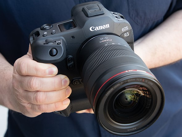 Hands-on with the Canon EOS R3