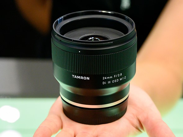 Hands-on with Tamron's 24 / 35mm Di III OSD M1:2
