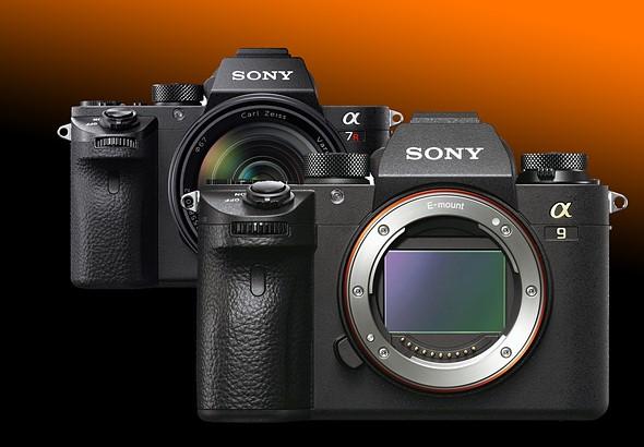 Sony a9 versus a7R II