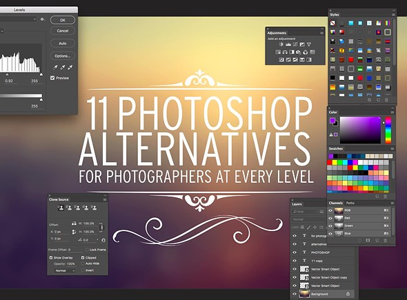 <strong>11 alternatives to Photoshop</strong>
