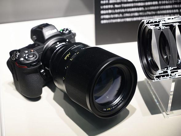 CP+ 2019: Finally - Nikon has cut a Z Noct 58mm 0.95 in half