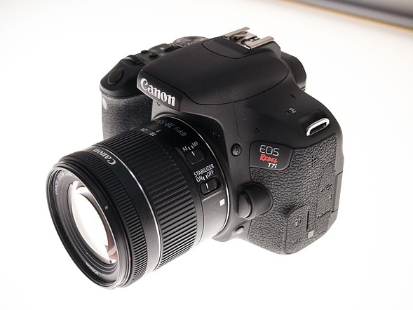 Hands-on with Canon EOS Rebel T7i