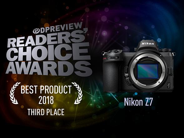Third place: Nikon Z7