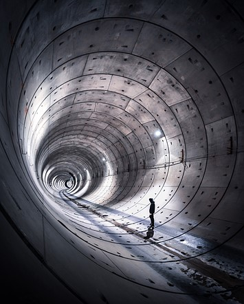 "Professional competition, Landscape, Shortlist, 2020: 'Urban Explorers - tunnel/05' by <a href=""https://www.instagram.com/jeroenvandam/"" rel=""noopener"" target=""_blank"">Jeroen van Dam </a>(Netherlands)"