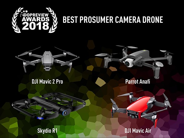 Best prosumer camera drone