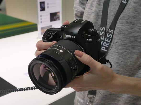 Photokina 2014: Samsung stand report