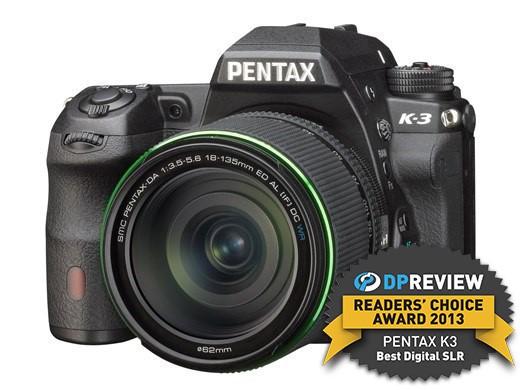 Best DSLR / SLT of 2013 -Winner:Pentax K-3