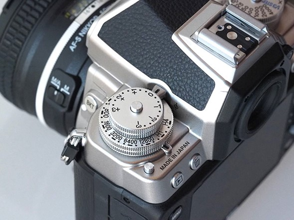Exposure Compensation and ISO dials