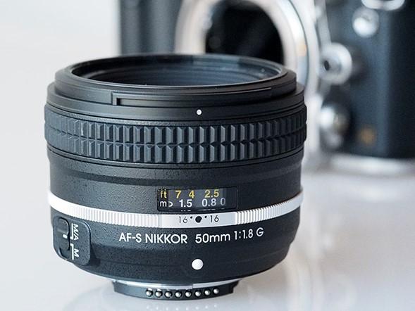 Matched AF-S Nikkor 50mm f/1.8G