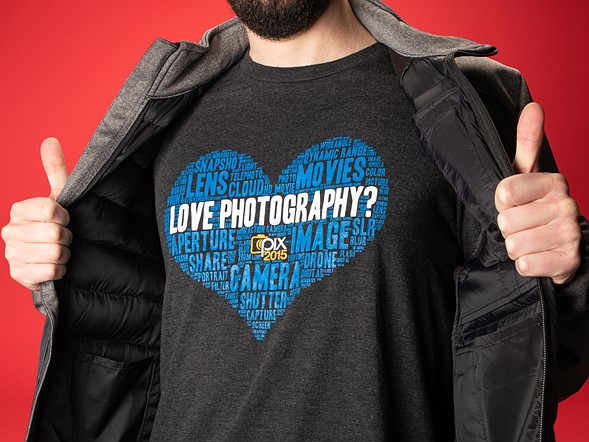 Camera or photography-themed clothing