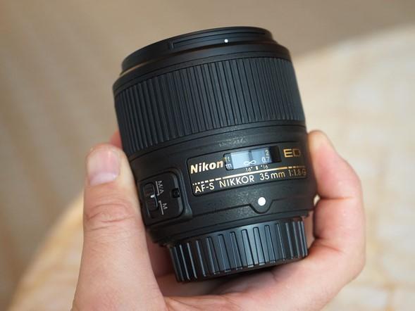 New AF-S Nikkor 35mm F1.8G lens