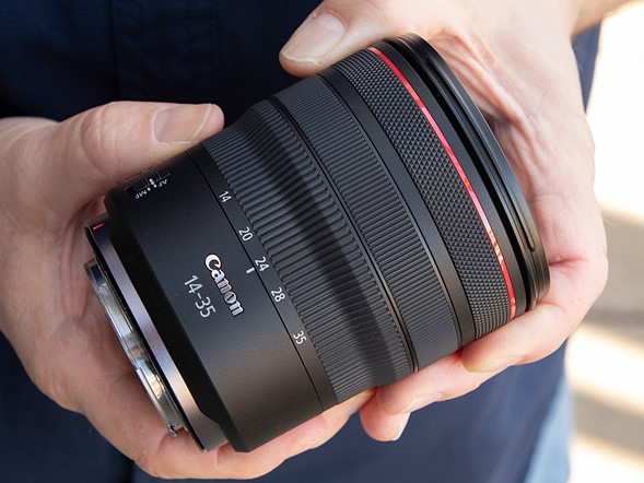Hands-on with the Canon RF 14-35mm F4 L IS USM