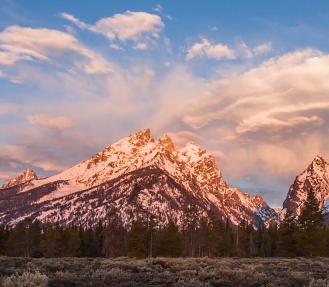 Wyoming's stunning weather and landscapes in time-lapse