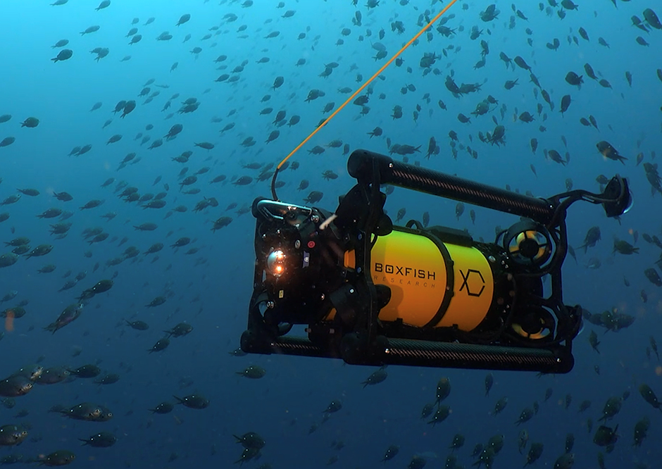 Boxfish Luna is an 8K underwater drone housing for Sony's a1, a7S III cameras