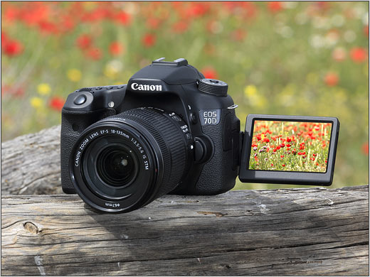 Canon videos showcase 70D's innovative AF system