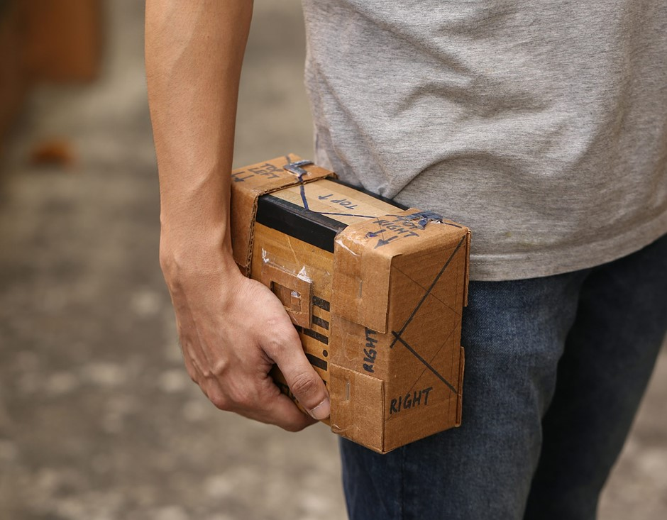 Film Fridays: Making and using a cardboard camera – adventures in pinhole photography