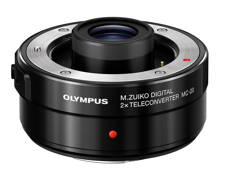 Olympus introduces 2X teleconverter, updates Micro Four Thirds roadmap