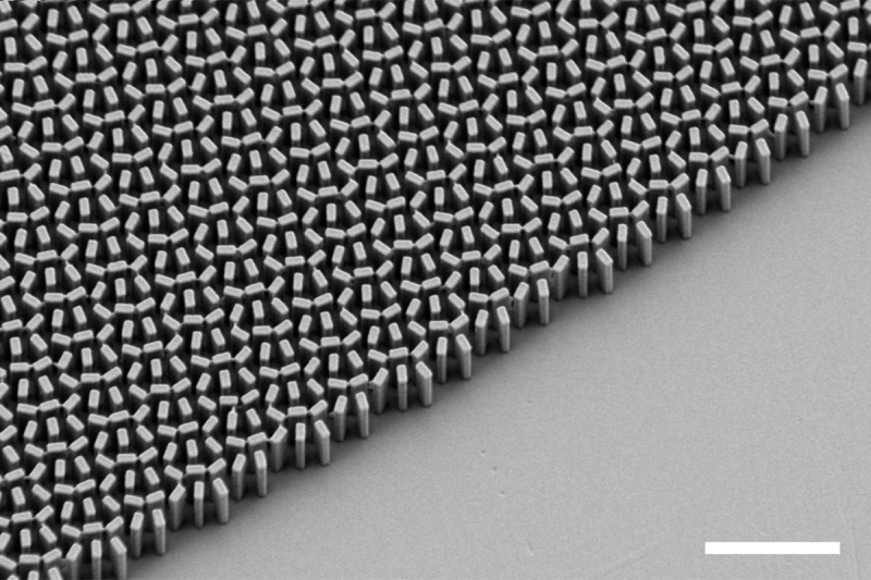 New Glassless Metalens Is 100 000x Thinner Than
