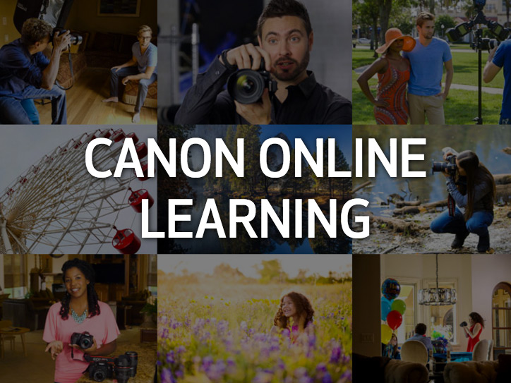 Canon USA launches new online photography courses