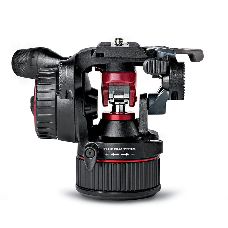 Manfrotto launches fluid head counterbalanced with a nitrogen piston