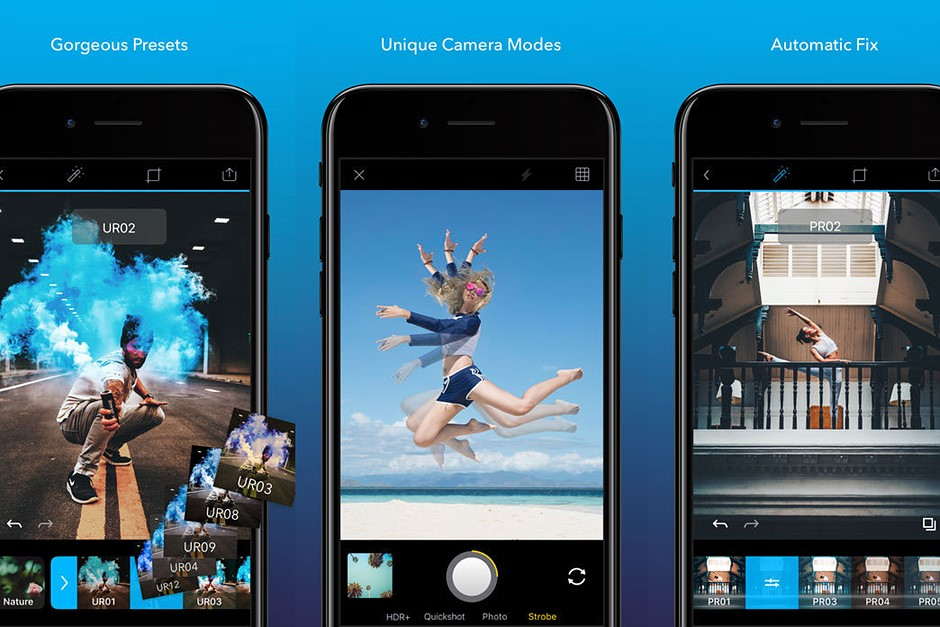 The Quickshot app adjusts your photography in real time