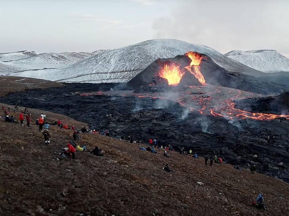Volcano for the People: Stunning visuals from Iceland's spectacular volcanic eruption