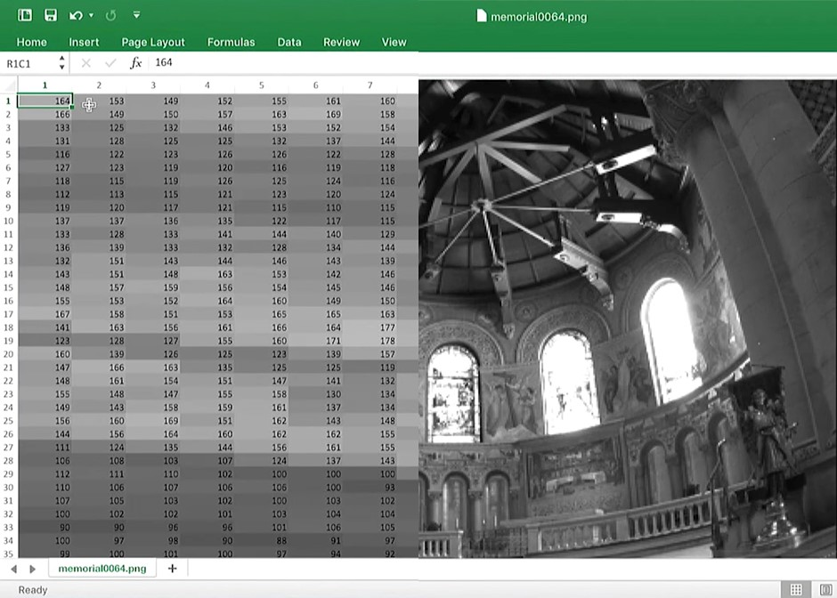 How to make an HDR image using Microsoft Excel... seriously
