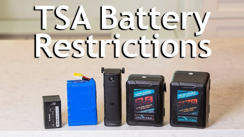 Video: How to safely and legally fly with camera batteries