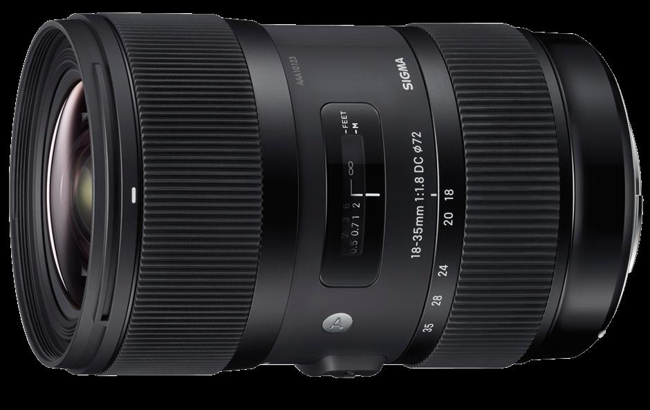 Sigma announces super-fast 18-35mm F1.8 DC HSM Art for APS-C DSLRs