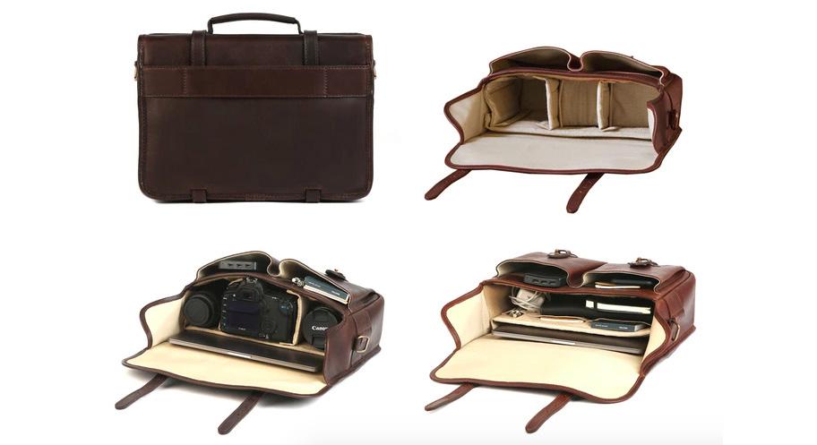 ba1643e4327367 Cravar unveils new Rana Series of leather messenger bags for photographers