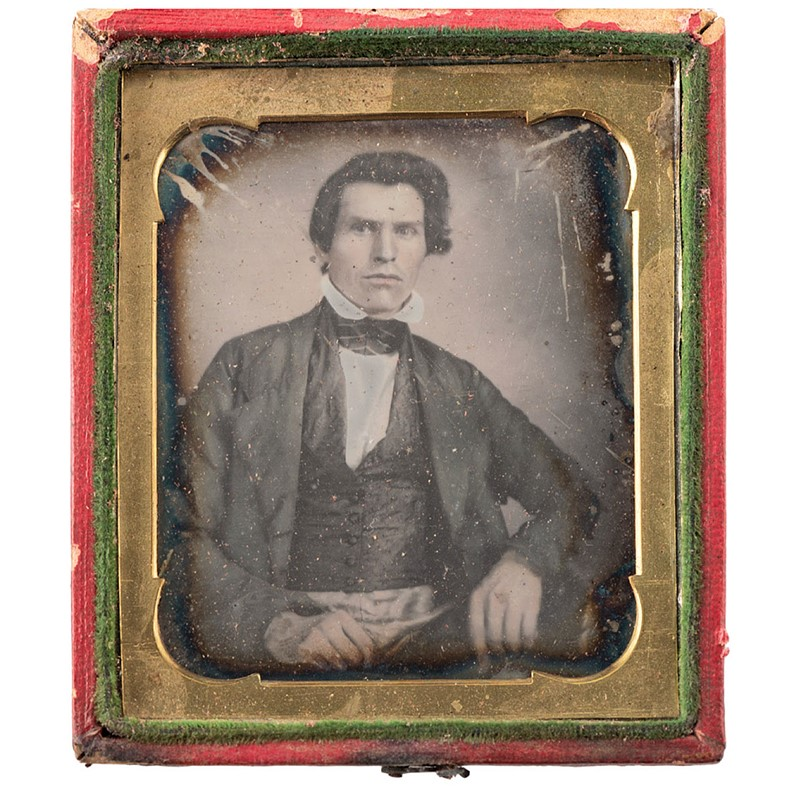 Some of the oldest American photographs were found in a workshop in New York