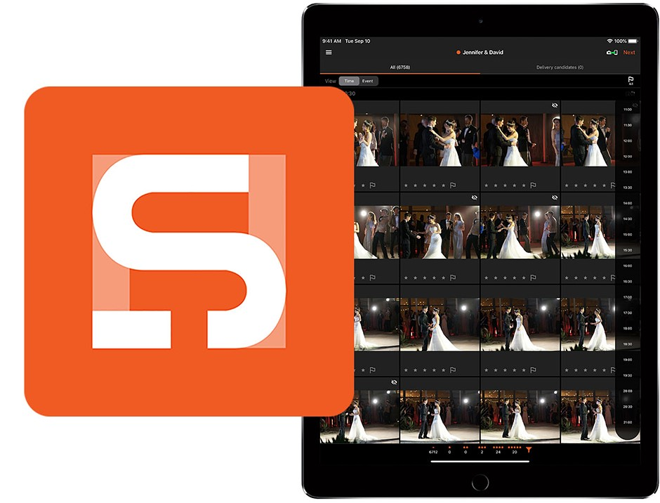 Sony's new Visual Story iOS app is designed for wedding and event photographers